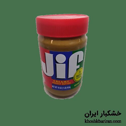 کره بادام زمینی جیف JIF