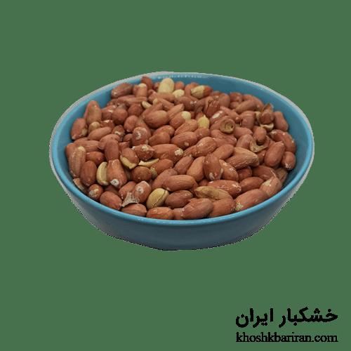 مغز بادام زمینی ایرانی خام