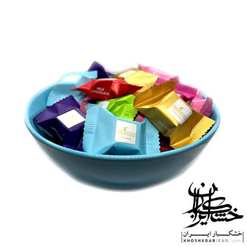 شکلات مرداس مخلوط