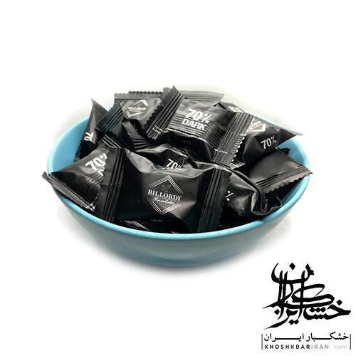 شکلات تلخ BILLORDY 70%
